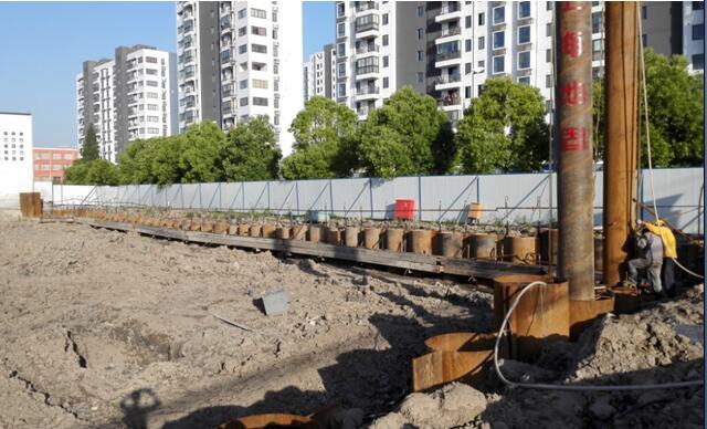 WSP工法案例(一):奉贤南桥某基坑围护设计、施工与监测