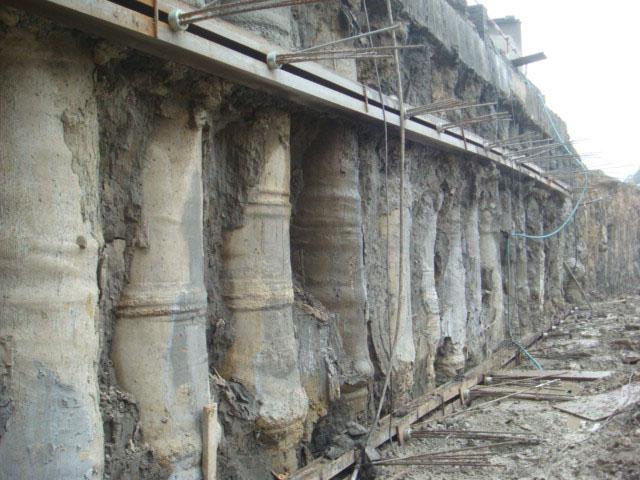 基坑支护可回收锚杆工程